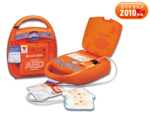 AED完備・バリアフリー